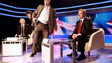 Ostatnie chwile przed debatą