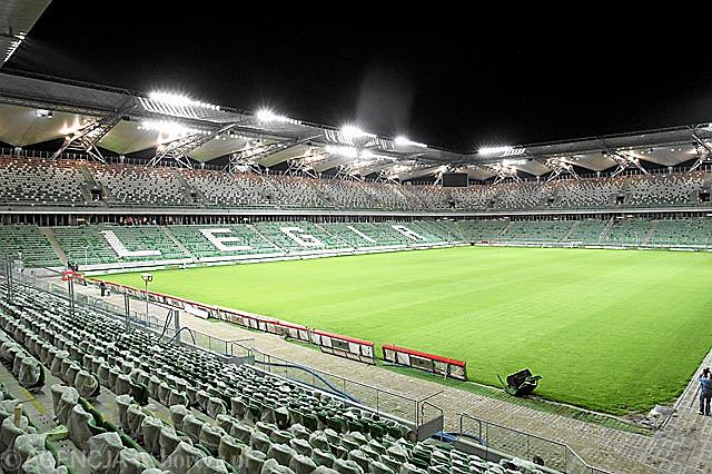 2. miejsce - Pepsi Arena, stadion Legii Warszawa