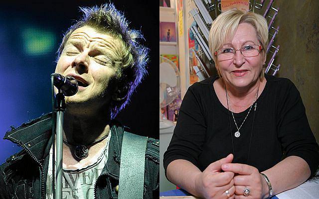 Piotr Kupicha i jego sławna teściowa Marta Fox - pisarka.