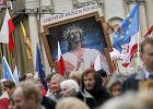 Manifestacja zwolenników intronizacji Jezusa Chrystusa na króla Polski