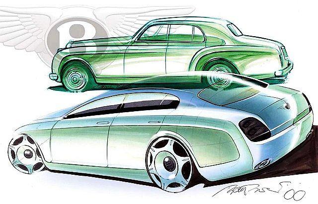 Bentley rozpoczyna prace nad czterodrzwiowym coupe