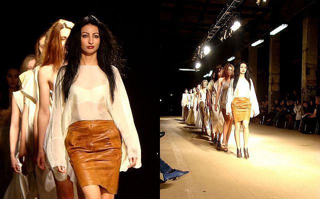 Jola Rutowicz pojawiła się na tygodniu mody w Łodzi jako... modelka.