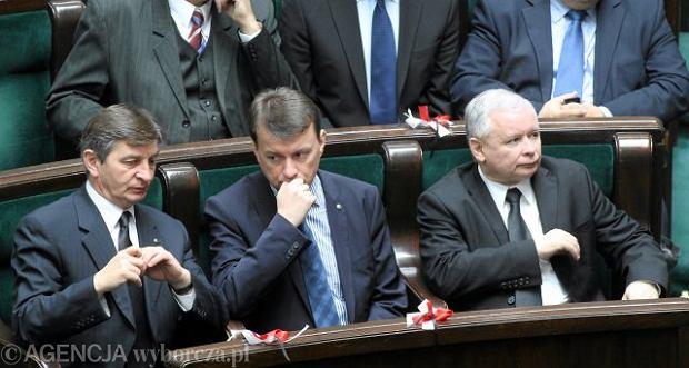 Mariusz Kuchci�ski, Mariusz B�aszczak, Jaros�aw Kaczy�ski