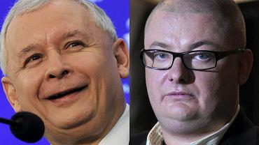 Jarosław Kaczyński i Michał Kamiński