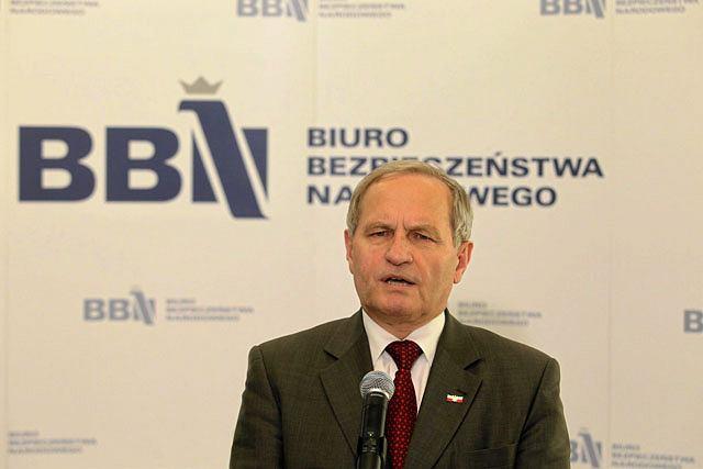 Szef BBN Stanisław Koziej