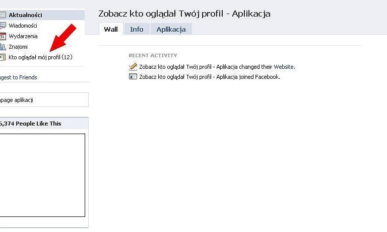 Zobacz kto ogl�da� Tw�j profil na Facebooku