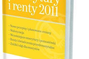 """""""Gazeta Wyborcza"""" z książką """"Emerytury i renty 2011"""""""