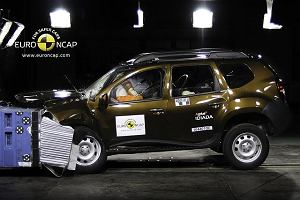 Trzy gwiazdki Dustera w Euro NCAP