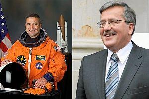 Astronauta polskiego pochodzenia u Komorowskiego
