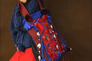 Haftowane torebki w etnicznym stylu