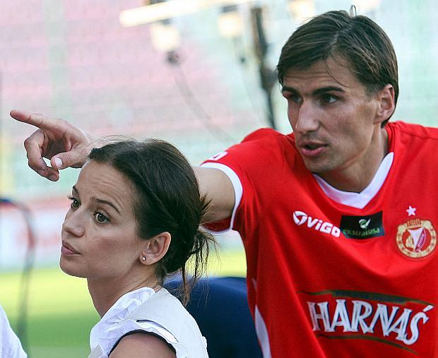 Anna Przybylska i Jarosław Bieniuk