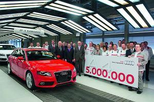 Audi A4 świętuje