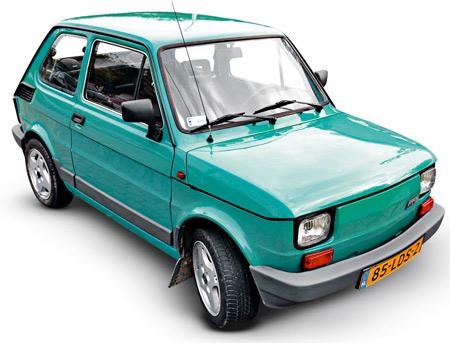 PRL,samochód, Fiat 126p, maluch