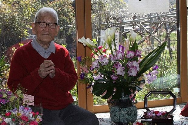 Jirouemon Kimura, najstarszy mężczyzna świata, obchodzi swoje 114 urodziny.