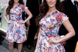 Jessica Lowndes w kwiecistej sukience