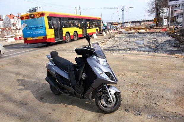 Prawo jazdy na skuter...