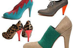 Ekscentryczne buty Lucila Iotti