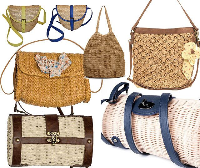 a316d408b803e Przegląd: Plecione i słomiane: torby na lato