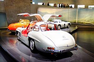 Z wizyt� w muzeum Mercedesa