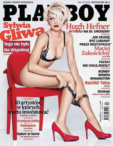 Sylwia Gliwa w Playboyu.