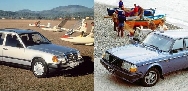 Pojedynek u�ywanych   Volvo vs Mercedes