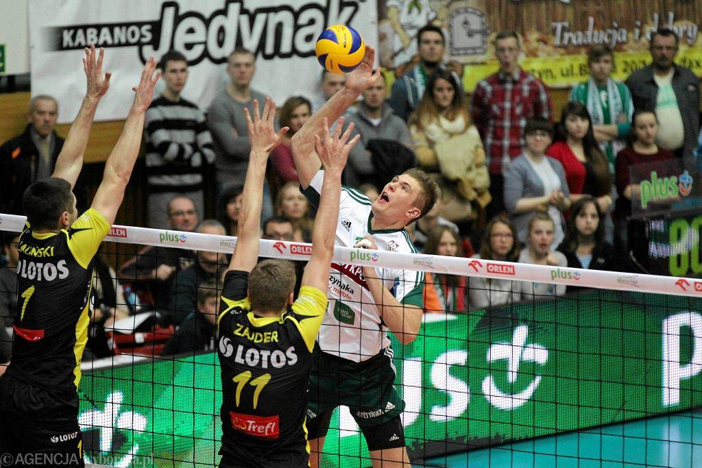 W ataku Piotr Łukasik