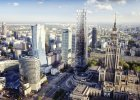Plac Defilad. 233-metrowy wieżowiec koło Sali Kongresowej. Będzie najwyższy w Polsce [WIZUALIZACJE]