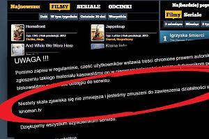 Kinoman.tv zamknięty