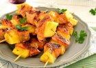 Szasz�yki �ososiowo-ananasowe