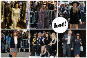 Paris Fashion Week: Marion Cotillard, Rosie Huntington-Whiteley, Ciara, Alexa Chung, Kim Kardashian, Chiarra Ferragni i inne gwiazdy w pierwszym rz�dzie na pokazach luksusowych marek [DU�O ZDJ��]