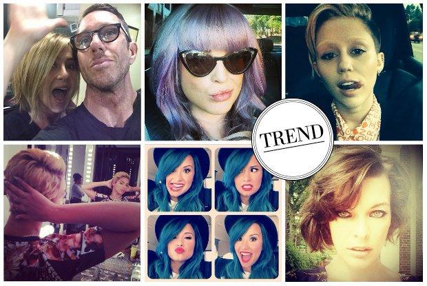 Nie na czerwonym dywanie, a na Instagramie - w 2013 roku to tu gwiazdy prezentowa�y swoje metamorfozy