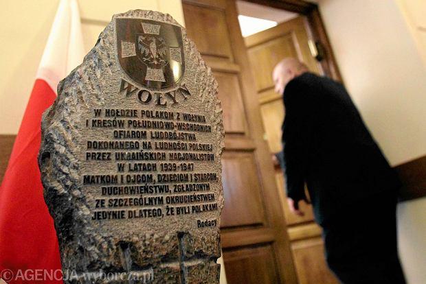 Parlament Ukrainy potępił polską uchwałę w sprawie rzezi wołyńskiej