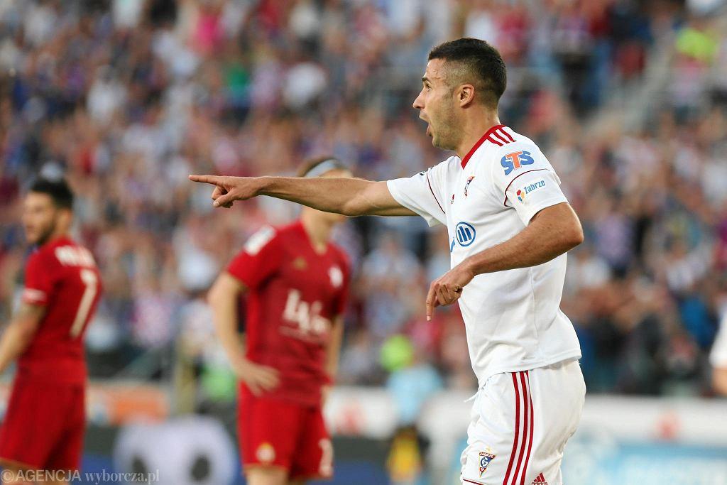 Górnik Zabrze - Wisła Kraków (2:0). Igor Angulo
