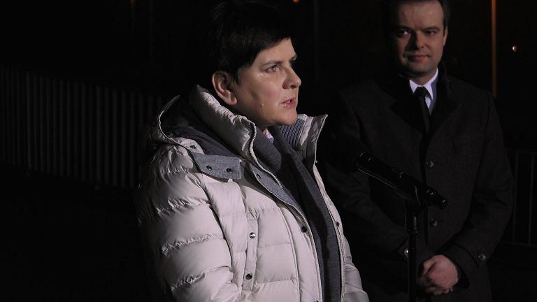 Premier Beata Szydło na konferencji