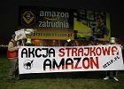 """Amazon - protest pod Poznaniem: """"Pracownicy przechodz� 20 km w magazynie"""""""