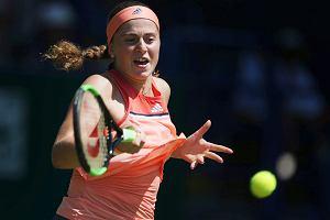 Wimbledon. Angelique Kerber i Jelena Ostapenko pierwszymi półfinalistkami