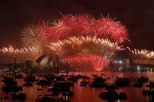 Australia świętuje Nowy Rok. Wielki pokaz sztucznych ogni w Sydney [WIDEO]