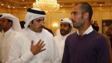Pep Guardiola w Katarze?