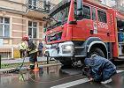 Poznań. W kamienicy na Jeżycach zapadła się podłoga. Ewakuowano 21 osób