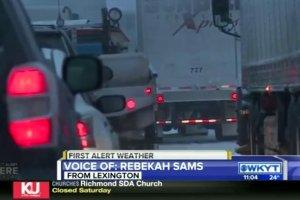 Burza �nie�na w USA. Parali� na drogach w Kentucky