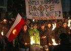 Narodowcy z ONR i MW przeciwko imigrantom. Rasistowskie okrzyki pod Neptunem w Gda�sku