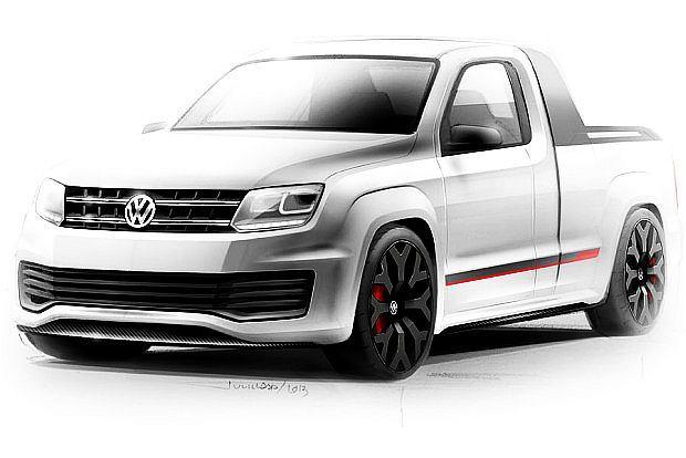 VW Amarok Power Pickup