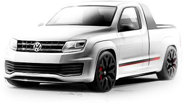 VW Amarok Power Pickup
