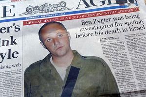 Australia chce od Izraela informacji o samob�jstwie tajemniczego wi�nia X