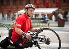 Koniec wyprawy niepełnosprawnego kolarza. Skradziono mu rower