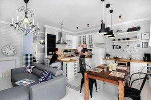mieszkanie, kuchnia, aranżacje wnętrz