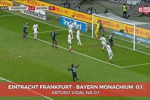 Bundesliga. Bayern Monachium - Eintracht Frankurt 1:0. Gol Vidala [ELEVEN SPORTS]