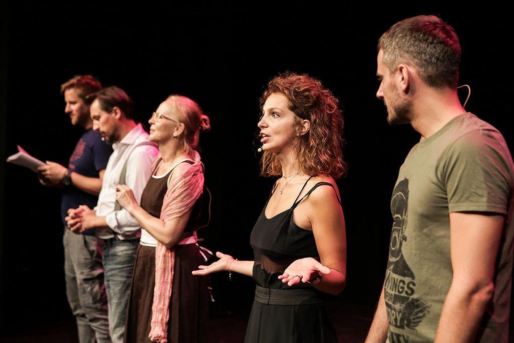 Próba w Teatrze Polonia / KATARZYNA KURAL-SADOWSKA