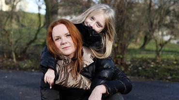 Matylda z mamą