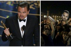 Leonarod DiCaprio wreszcie zdoby� Oscara